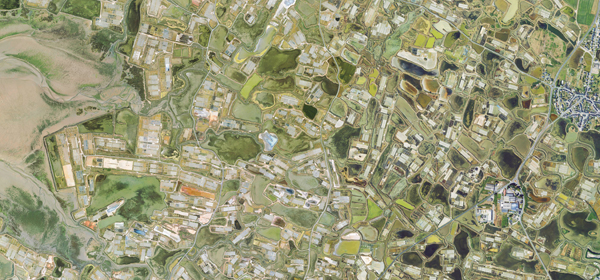 Fond d'écran Marais salants de Guérande