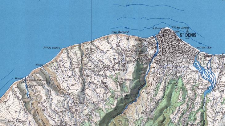 Carte de Saint-Denis
