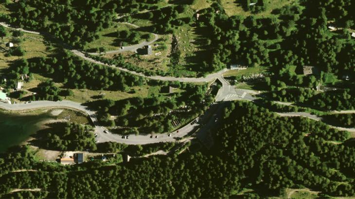 Commune de Saint-Martin-Vésubie, Le Boréon, le 5 juillet 2017